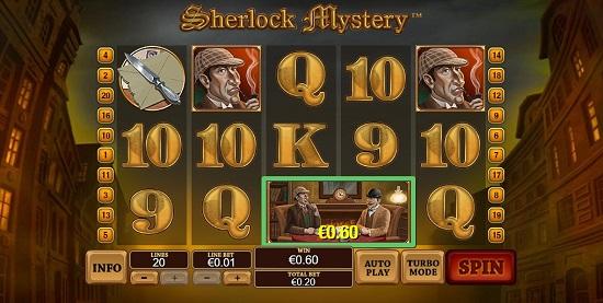 Sherlock Mystery automat do geir