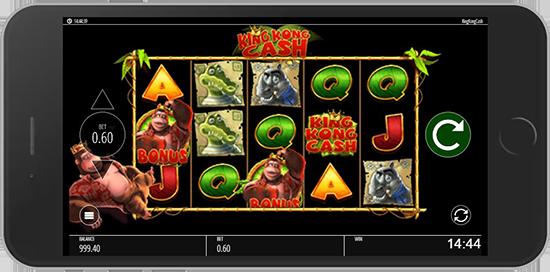 King Kong Cash na telefon komórkowy